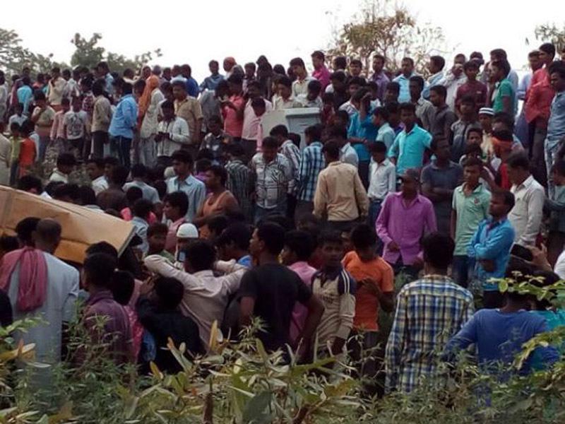 Children have died, Injured, School Bus, India