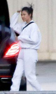 Kourtney Kardashian, Kardashian, Paparazzi, Spoted, Walking, Car