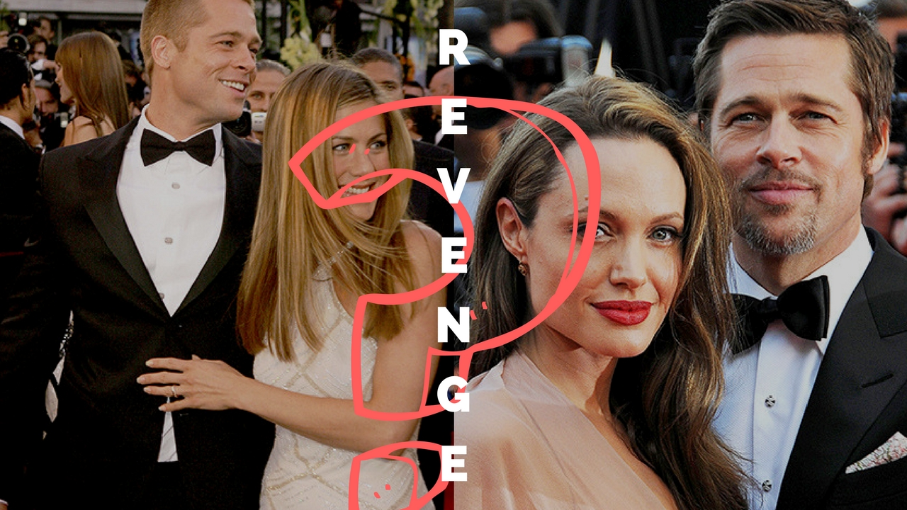 Angelina Jolie, Brad Pitt, Jennifer Aniston, Revenge