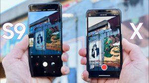 Apple, Samsung, iPhone X, Samsung Galaxy S9, Specs, Price, Cameras