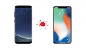 Apple, Samsung, iPhone X, Samsung Galaxy S9, Specs, Price, Software