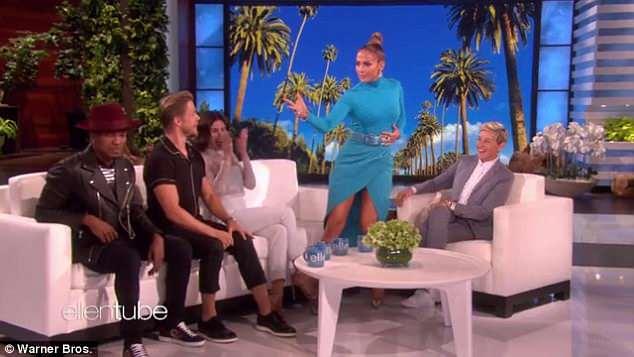 Jennifer Lopez, Spanx, Embarrassing, Dancing