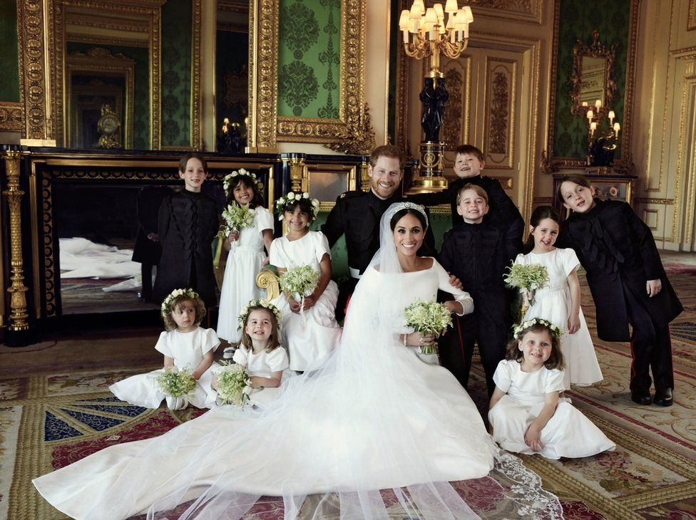 The Duke and Duchess of Sussex have released three official photos taken on their wedding