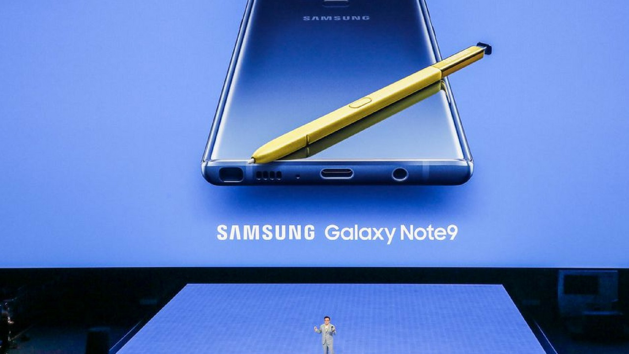 The latest flagship by Samsung, the Samsung Galaxy Note 9