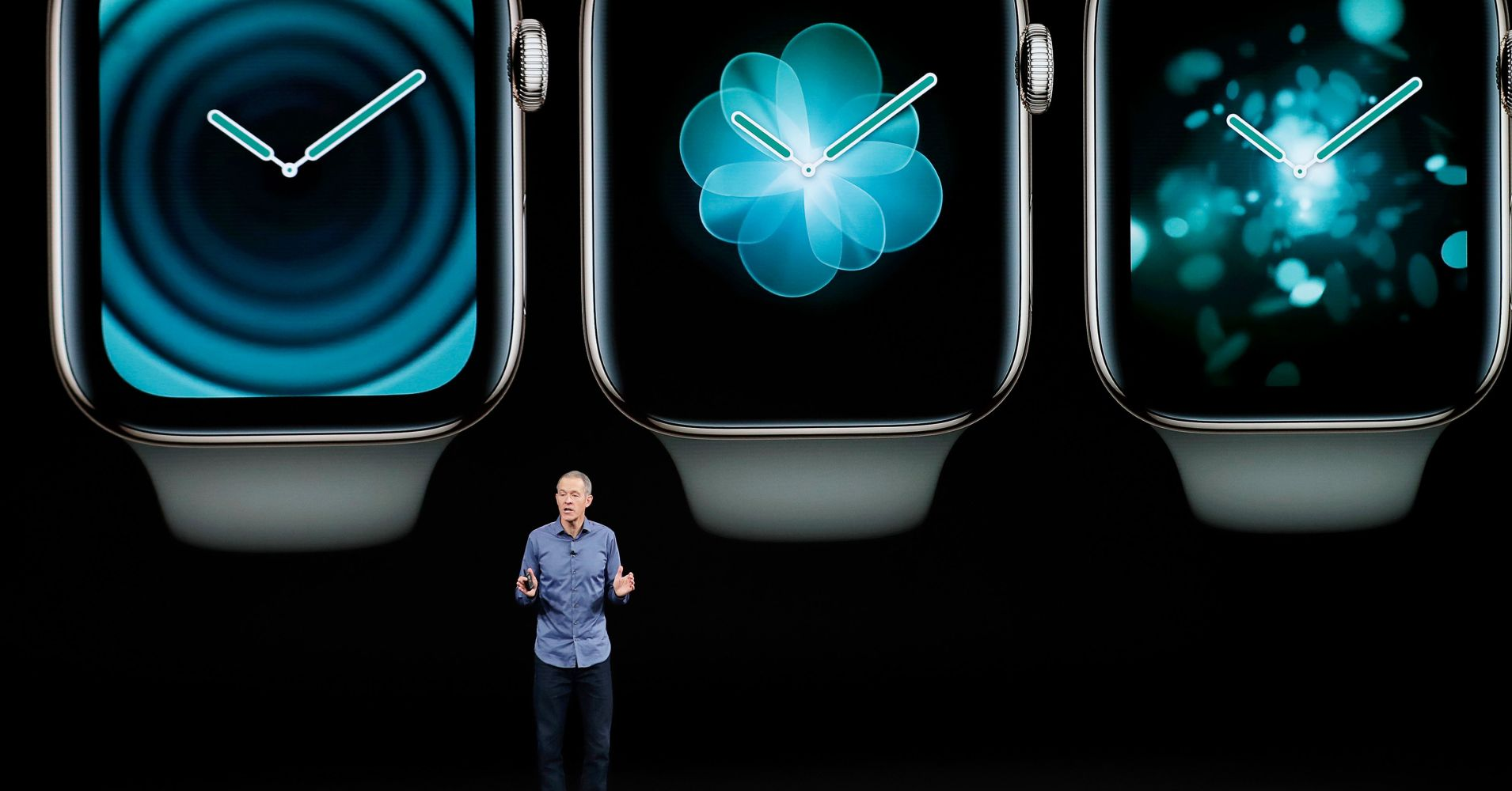 Apple introduced the Apple Watch Series 4 and the new iPhone Xs.