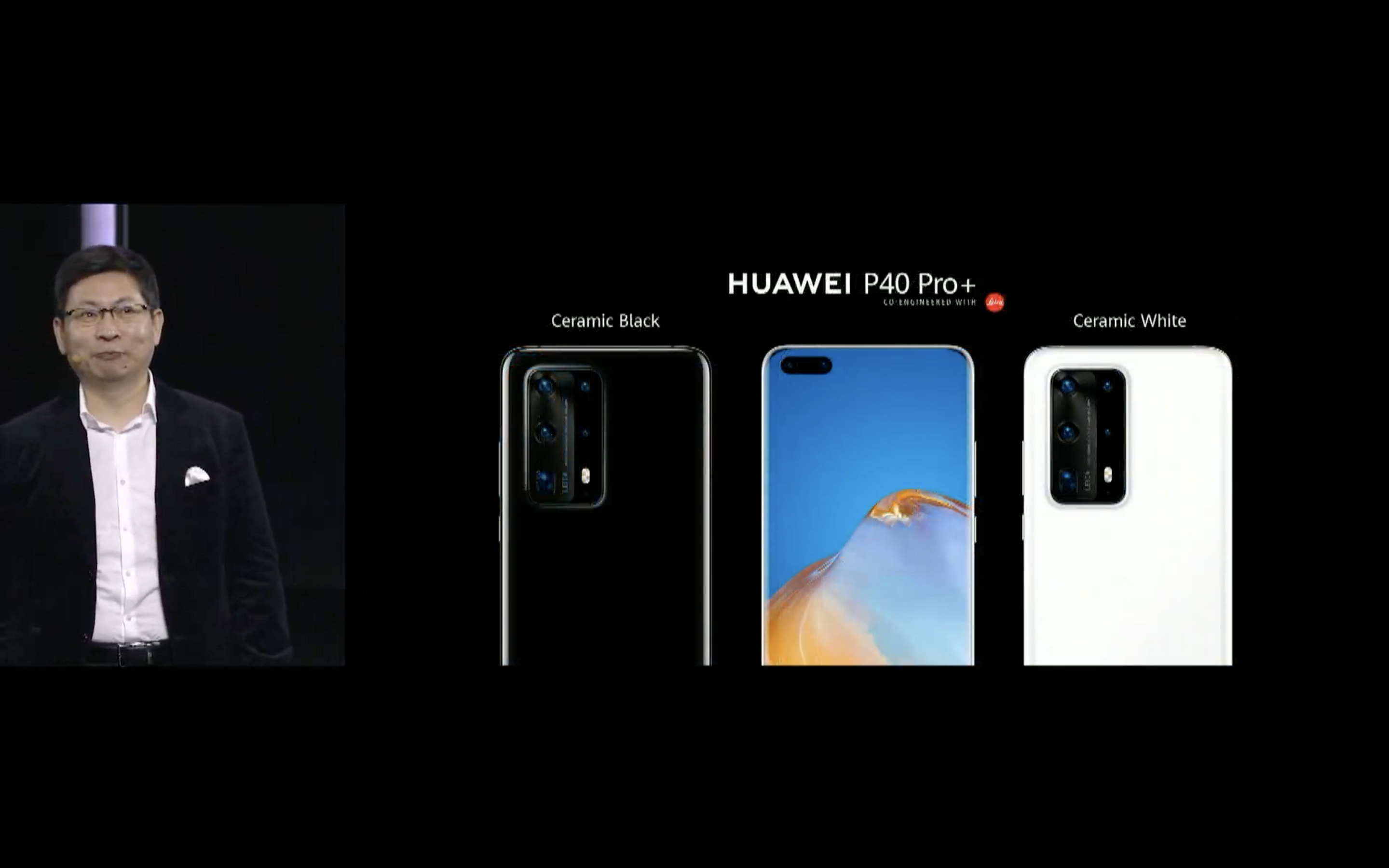 Huawei P40 Pro and Huawei P40 Pro Plus Black Ceramic and White Ceramic