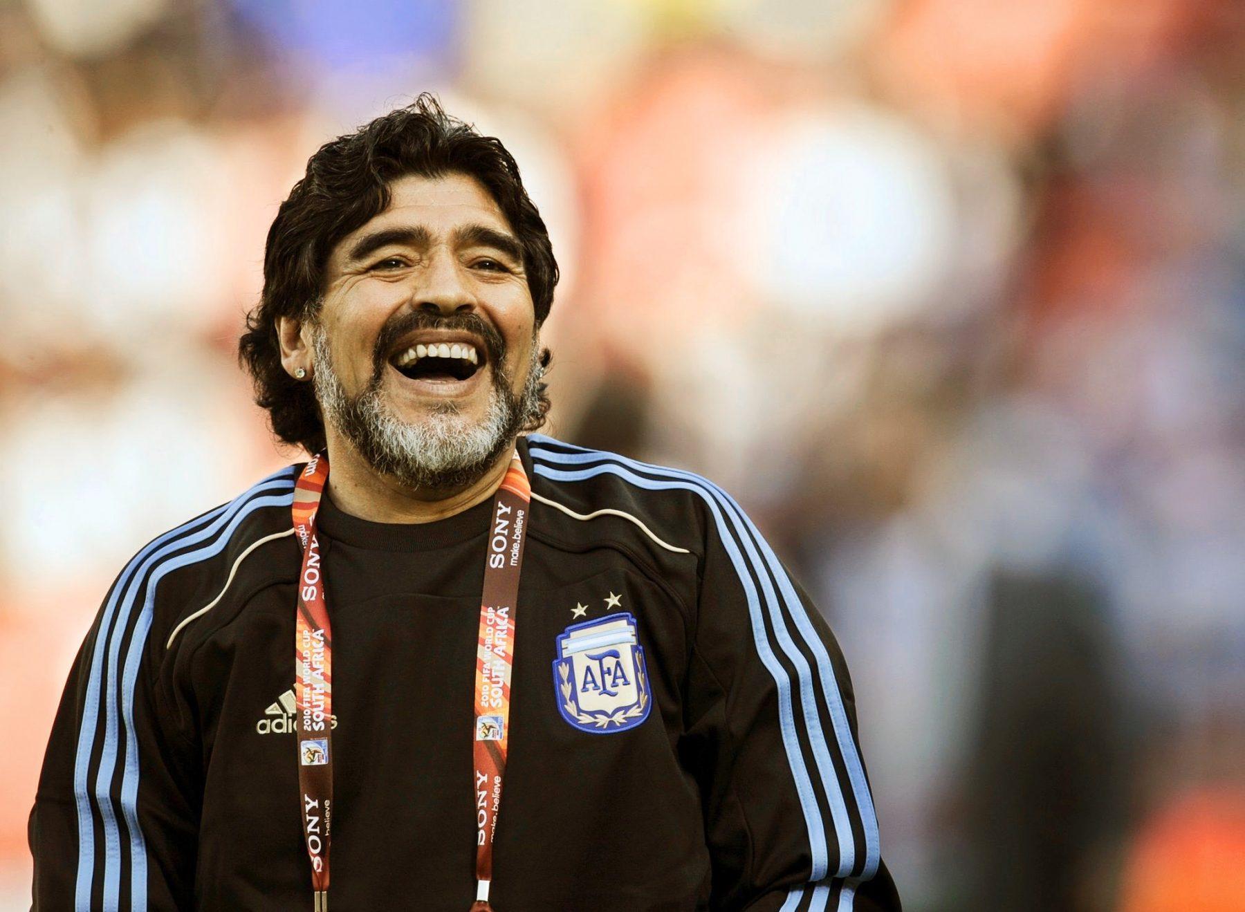 Diego Maradona Argentina manager died