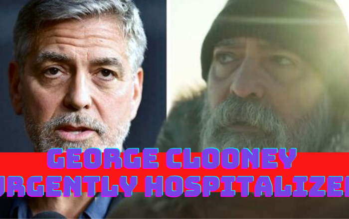George Clooney urgently hospitalized dramatic weight loss