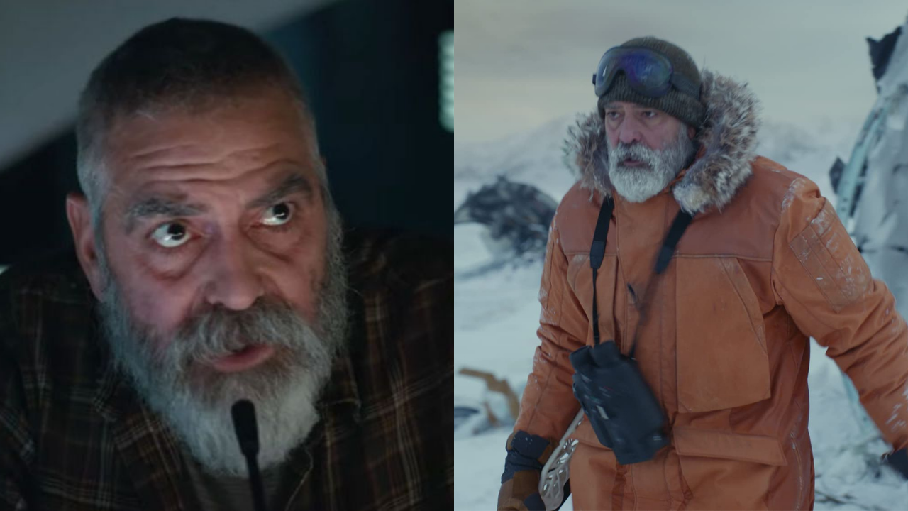George Clooney is in very serious health condition grew a big beard and lost 30 pounds