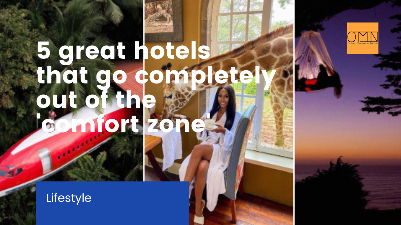 5 great hotels that go completely out of the 'comfort zone'