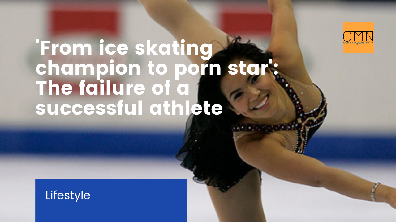 'From ice skating champion to porn star': The failure of a successful athlete