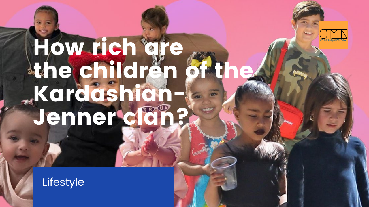North West has a bill of 10 million - How rich are the children of the Kardashian-Jenner clan? (VIDEO)