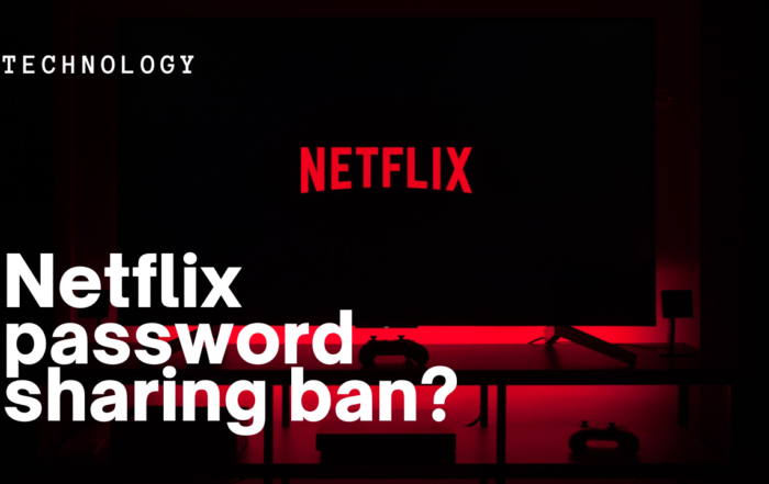 Are you ready for a Netflix password sharing ban?