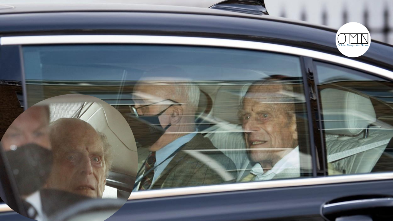 After 28 days of treatment: Prince Philip left the hospital