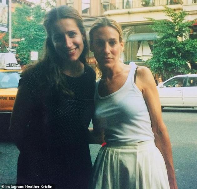 Heather Kristin with Sarah Jessica Parker