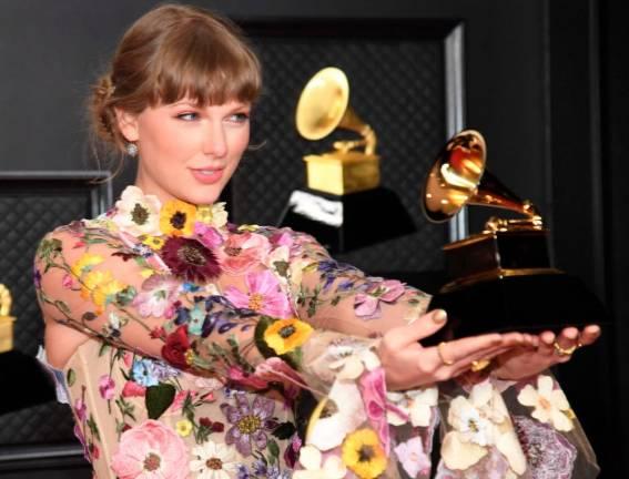2021 Grammys: Taylor Swift