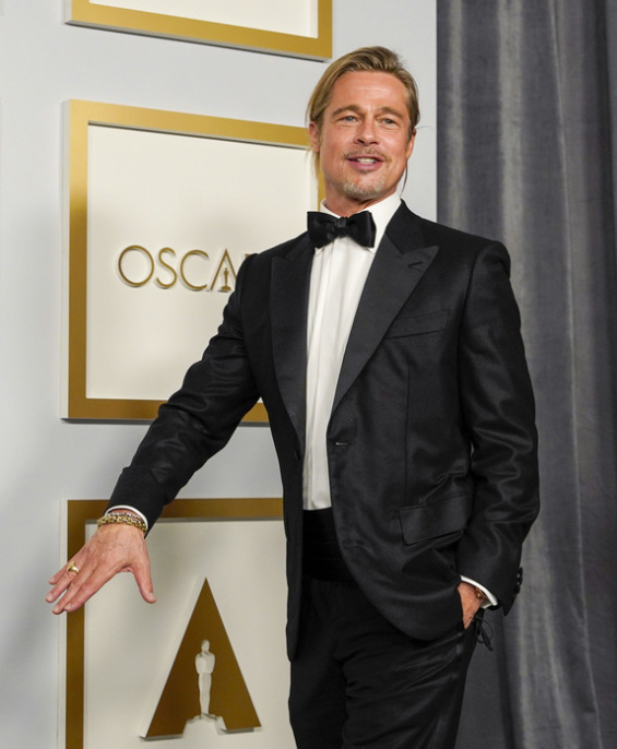 Brad Pitt was the sexiest man at the Oscars 2021 - he became a hit on Twitter