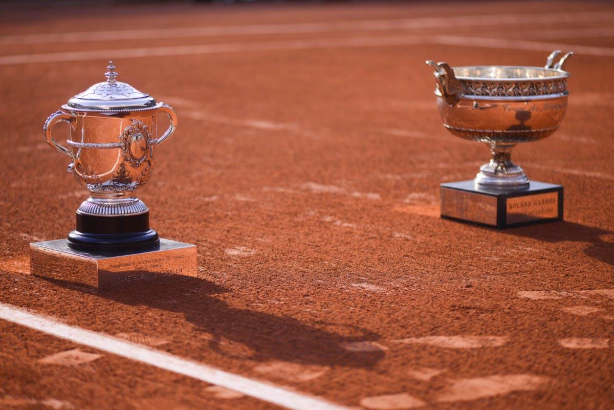 Тrophies Roland Garros 2021