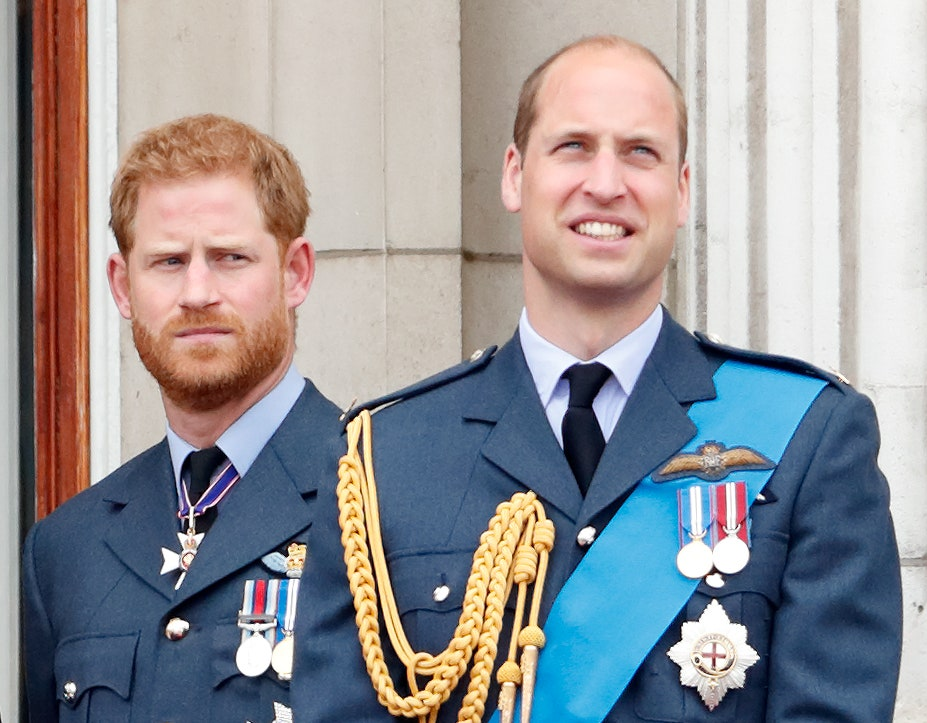 Harry and William took a joint step