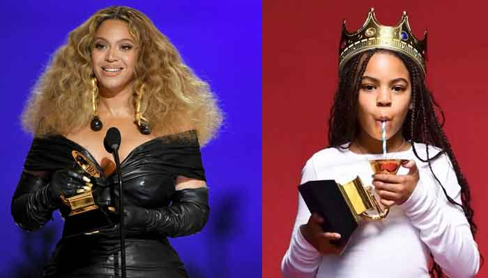 "Beyoncé and daughter Blue Ivy Carter won a Grammy for ""Brown Skin Girl"" at this year's Grammy Awards"