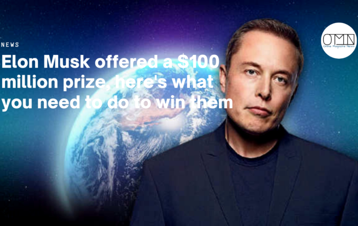 Elon Musk offered a $100 million prize, here's what you need to do to win them