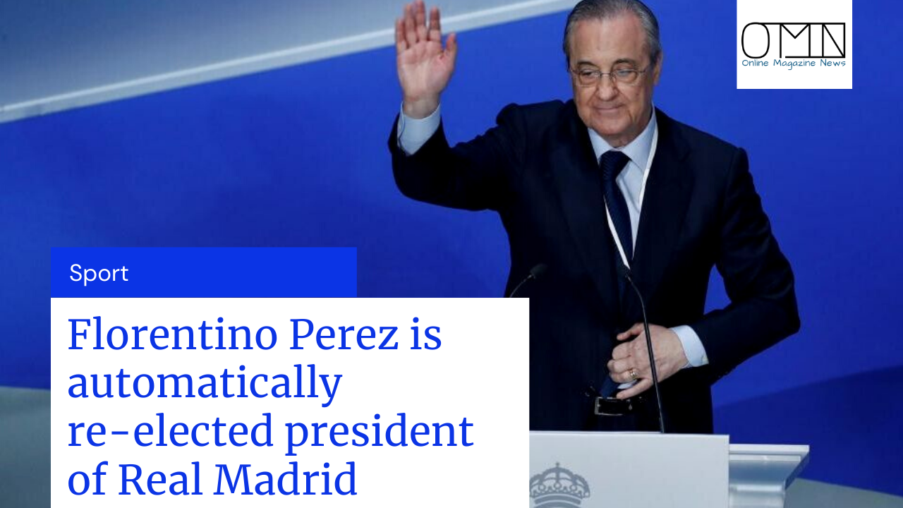 Florentino Perez is automatically re-elected president of Real Madrid Perez has led Real Madrid for the last 12 years