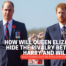 How will Queen Elizabeth hide the rivalry between Harry and William? Queen Elizabeth doesn't like dramas at the funeral of Prince Philip
