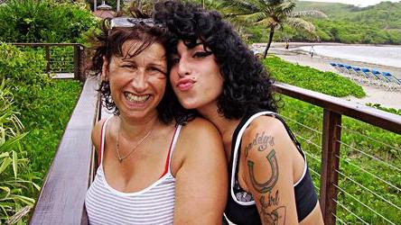 Amy Winehouse and Janis Winehouse