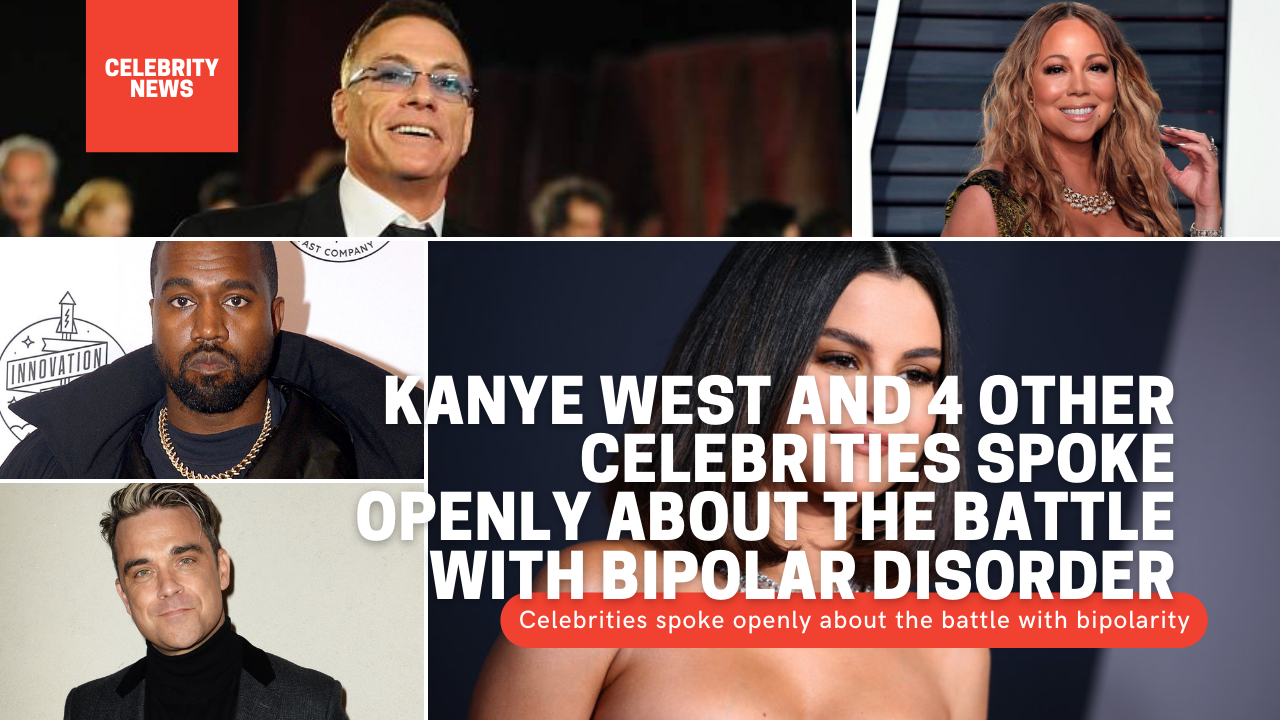Kanye West and 4 other celebrities spoke openly about the battle with bipolar disorder