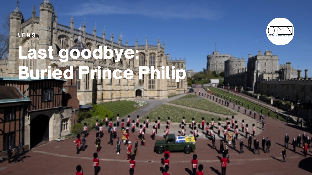 Last goodbye: Buried Prince Philip