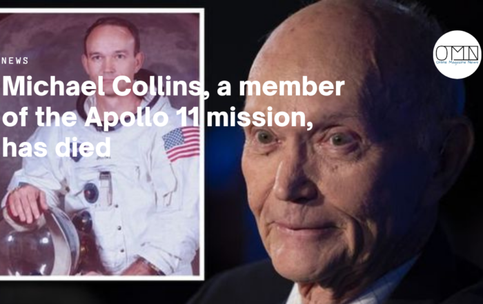 Michael Collins, a member of the Apollo 11 mission, has died