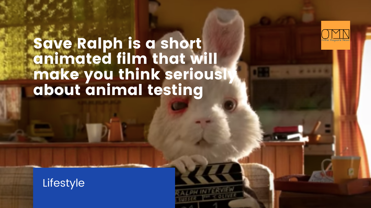 Save Ralph is a short animated film that will make you think seriously about animal testing