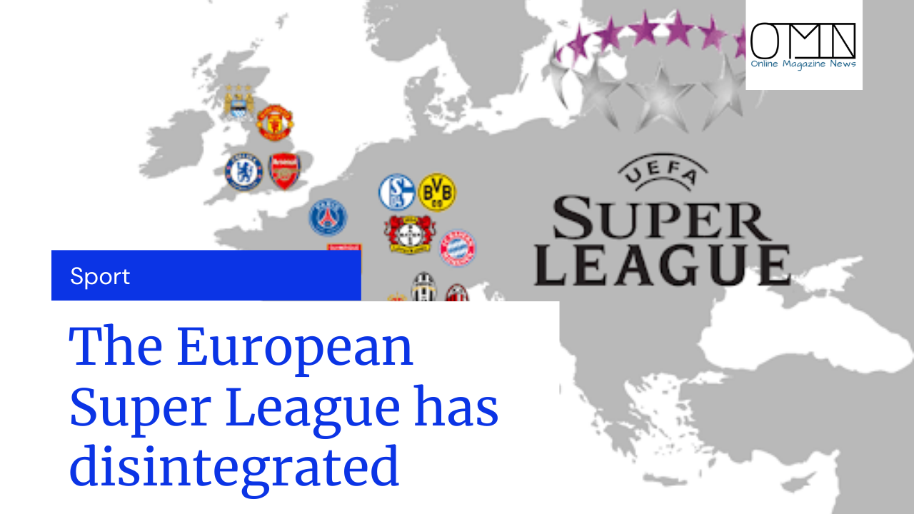 The European Super League has disintegrated