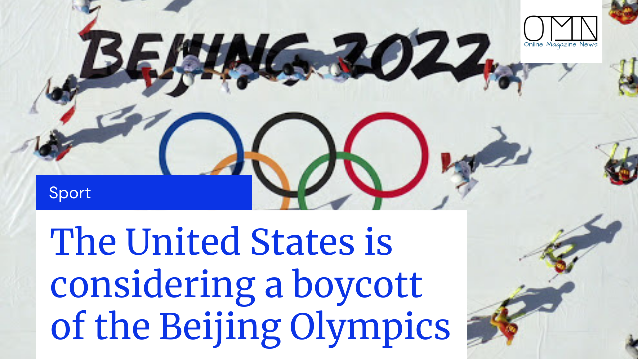 The United States is considering a boycott of the Beijing Olympics