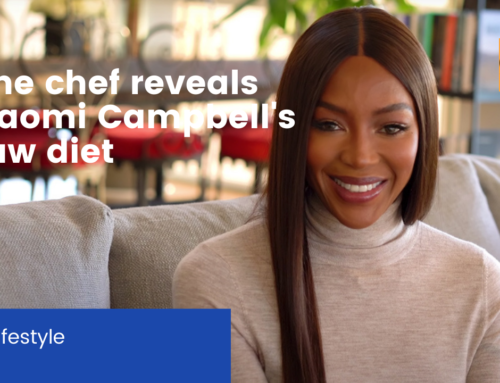 The chef reveals Naomi Campbell's raw diet