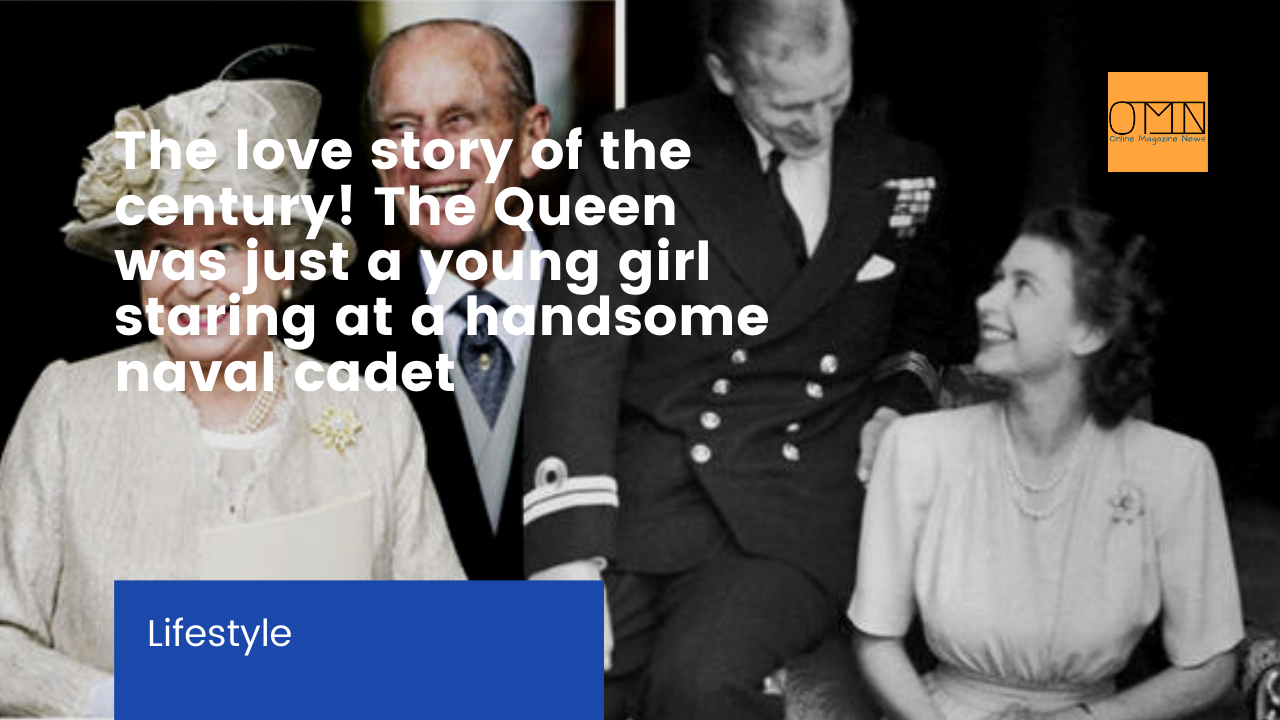 The love story of the century! The Queen was just a young girl staring at a handsome naval cadet