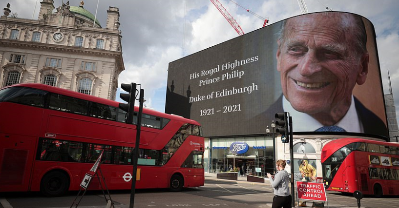 Prince Philip will be buried on April 17