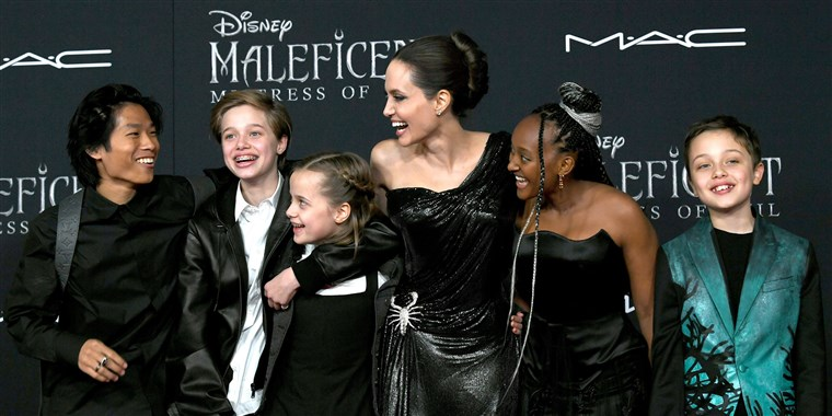 In addition to Vivienne, Angelina Jolie has five other children and is still battling with her ex-husband Brad Pitt for custody