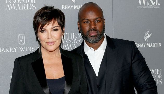 Kris is currently in a relationship with Corey Gamble,