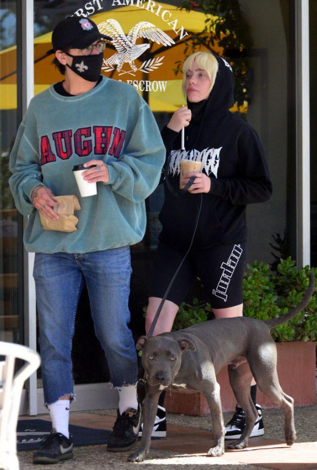 Billie Eilish walked with her new boyfriend