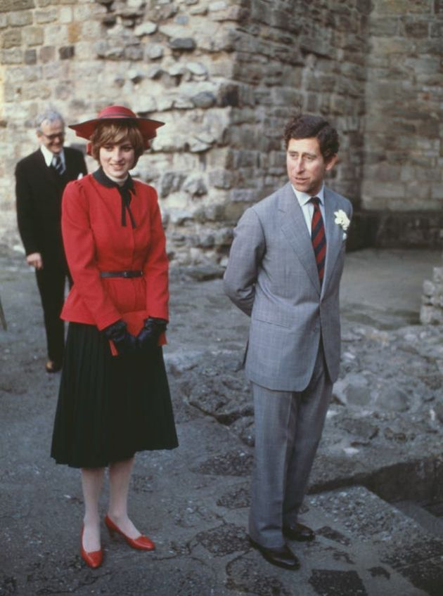 The scandals of the Royal Family in the last 100 years Prince Charles and Princess Diana shortly after their marriage in 1981