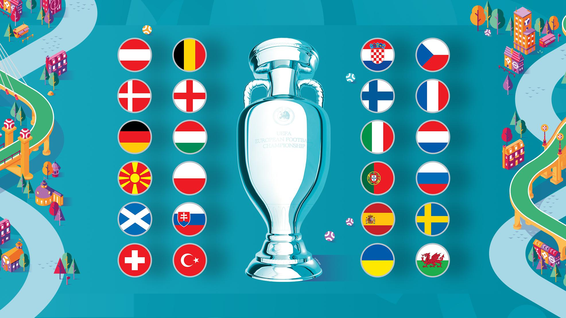 European Championship 2021 will be played in front of an audience with a limit on the number of spectators