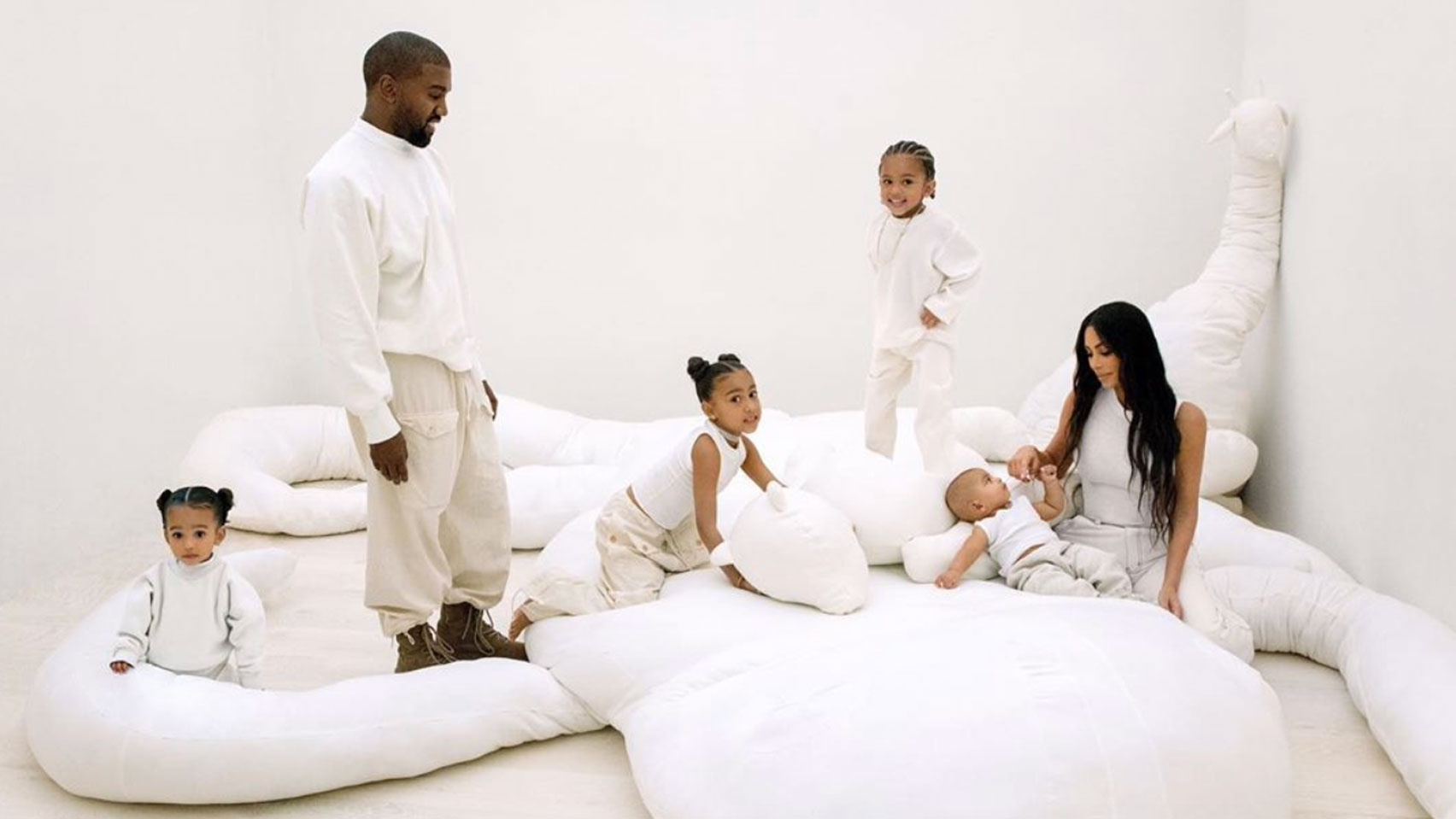 In marriage to Kanye West, Kim Kardashian had four children