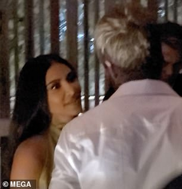 Kim Kardashian melts in front of David Beckham, Victoria holds his hand at the party for the 47th birthday