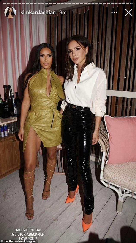Kim Kardashian & Victoria Beckham
