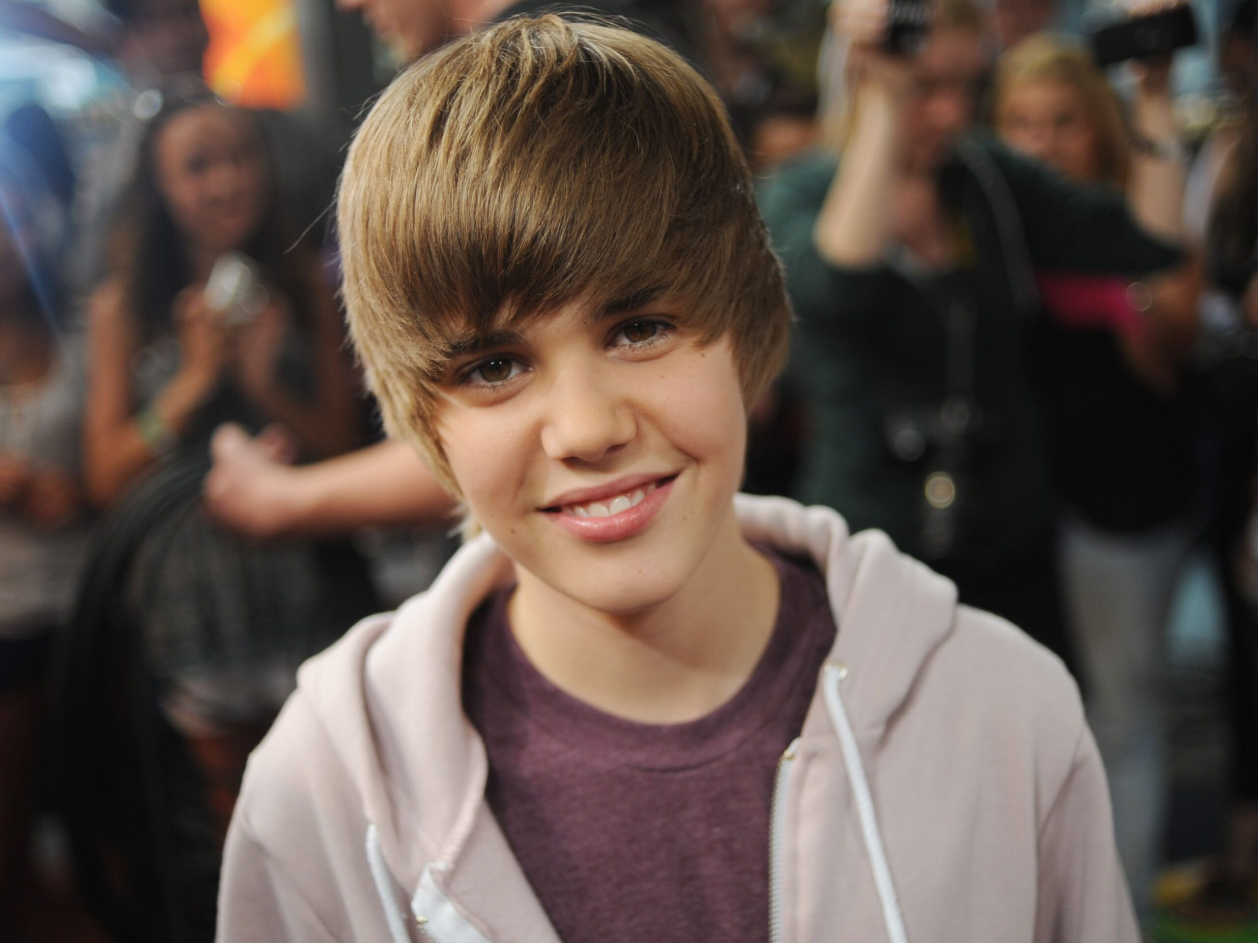 Justin Bieber signed his first contract when he was only 14 years old