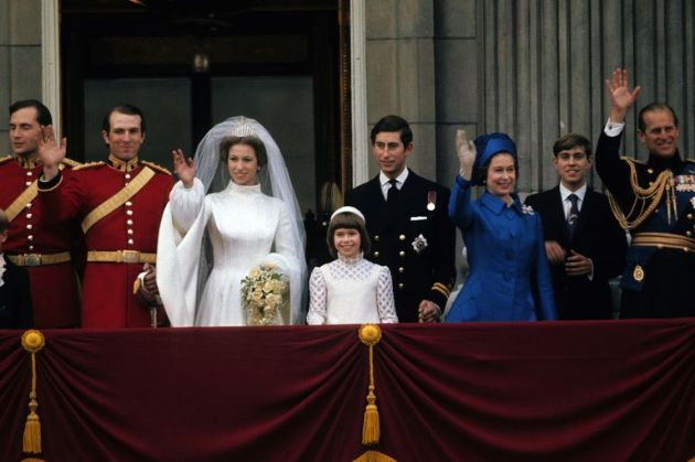 The scandals of the Royal Family in the last 100 years The wedding of Princess Anne
