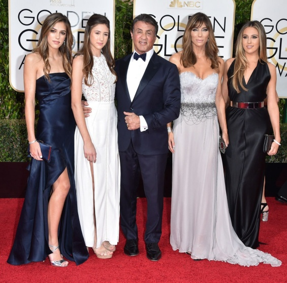 Sylvester Stallone and Jennifer Flavin congratulated each other on their 24th wedding anniversary with photos