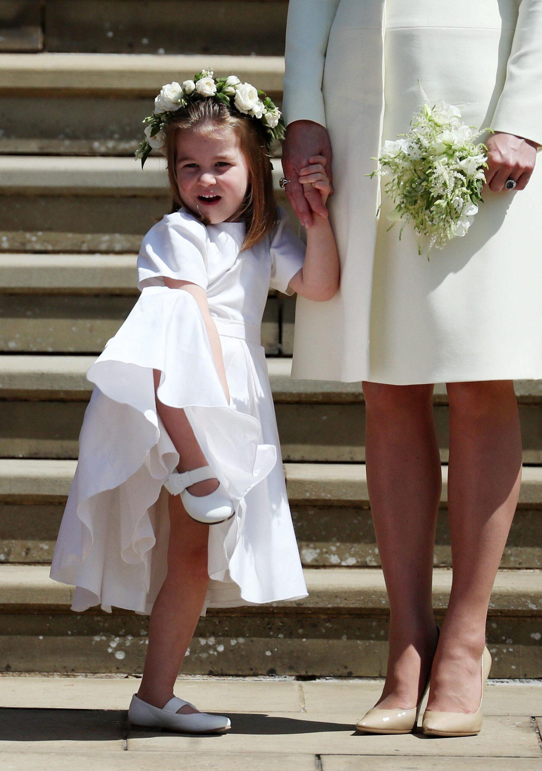 Princess Charlotte celebrates her 6th birthday! - looks more like dad