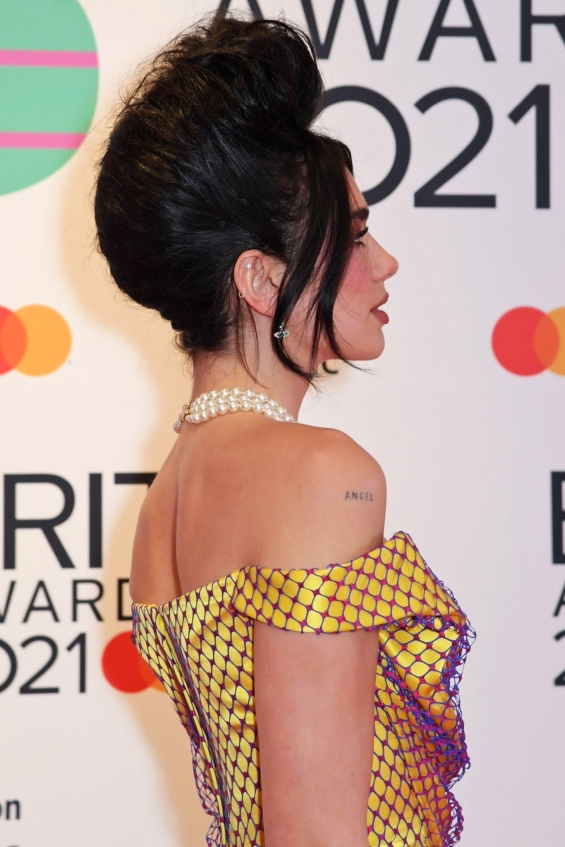 Dua Lipa with questionable styling at the Brit Awards - Fashion chic or kitsch?